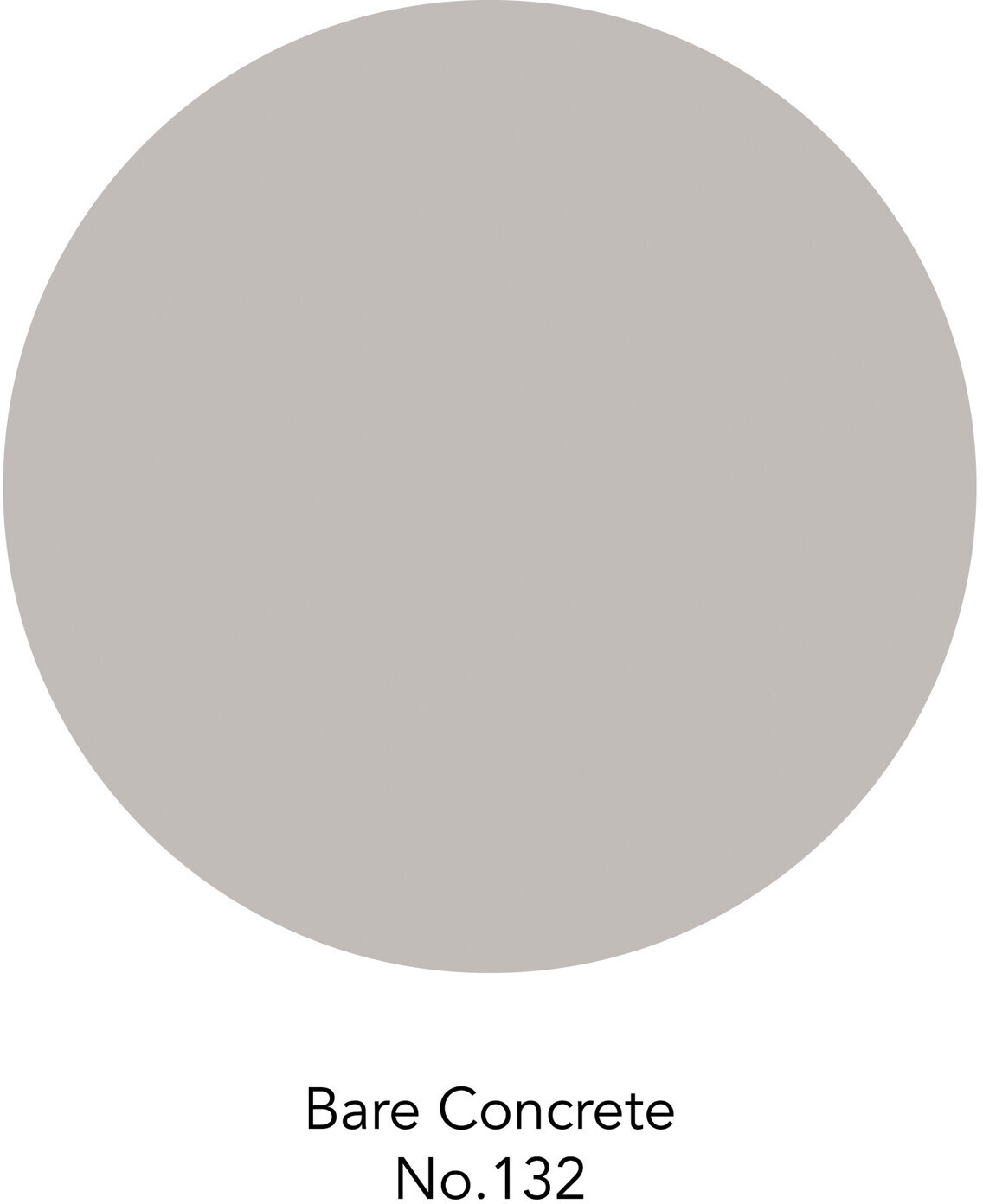 toom Premium Wandfarbe 'Bare Concrete No. 132' 125 ml