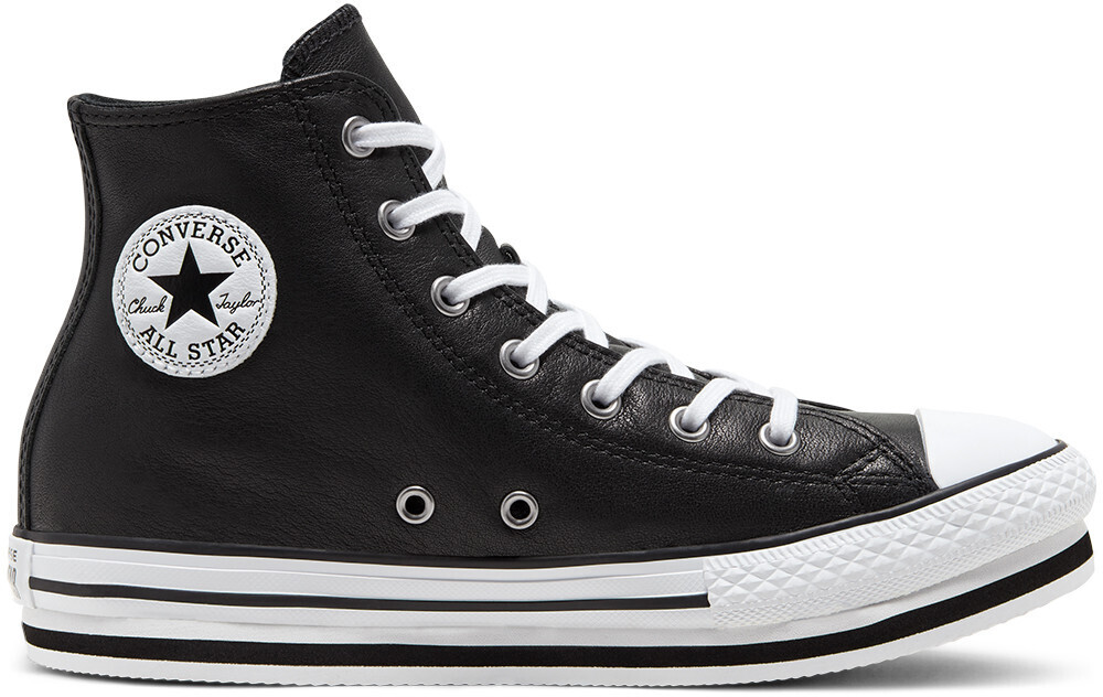 Converse Leather Chuck Taylor All Star Platform Kids