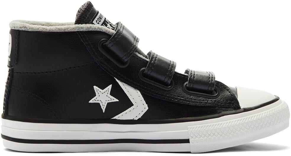 Converse Varsity Turf Easy-On Star Player Mid Kids black/mason/vintage white