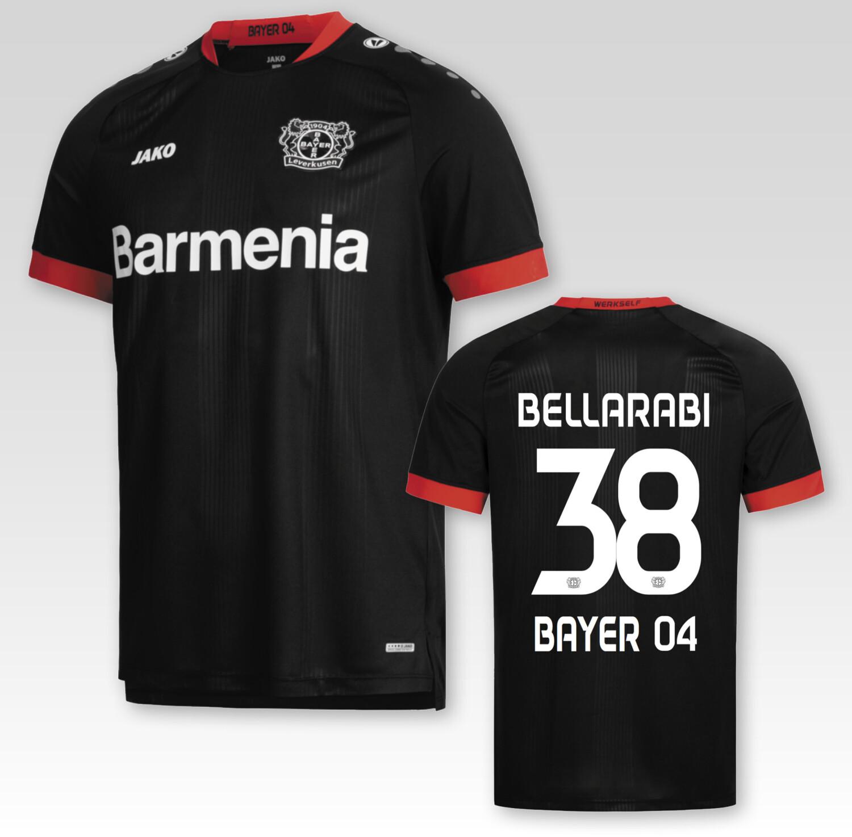 JAKO Bayer 04 Leverkusen Heimtrikot 2021 + Bellarabi 38