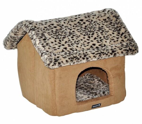 Nanook Hundehöhle Katzenhöhle braun 44x34x41 cm