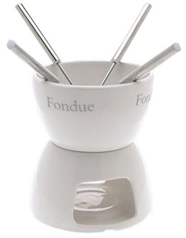 Image of Excellent Houseware 411697 Chocolade fondue Set of 4 ceramic chocolate fondue