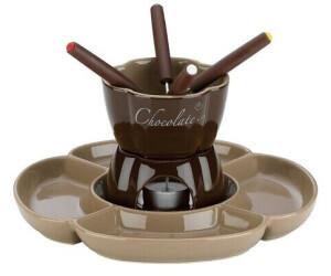 Kela 0,25 L Fondue-Set Fiore aus Keramik