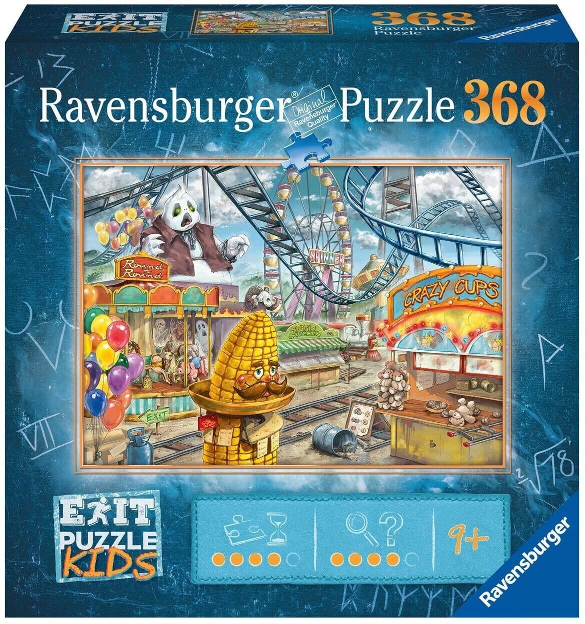 Ravensburger Exit Puzzle - Im Freizeitpark (368 Teile)