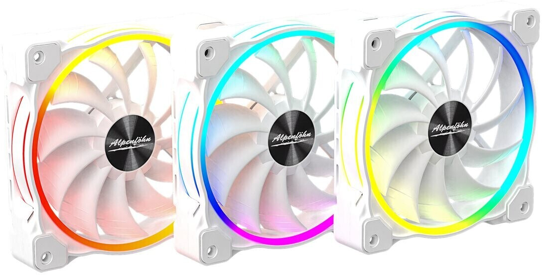 Image of Alpenföhn Wing Boost 3 High Speed 3 Pack White