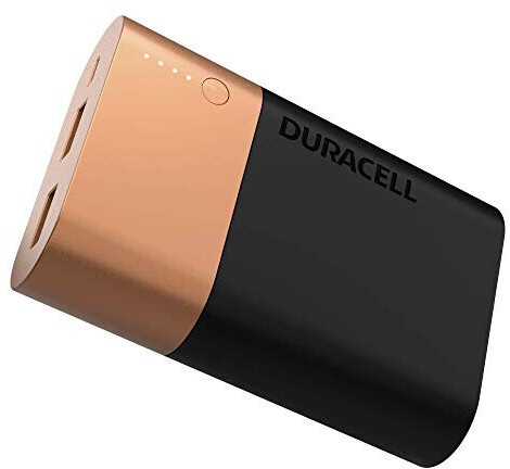 Duracell Powerbank 10050 mAh Black/Gold