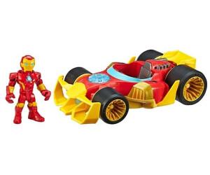 Hasbro Marvel Iron Man w/car Playskool