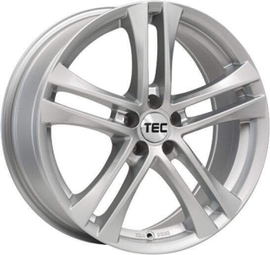 TEC by ASA AS4 7,5x17 Kristall-Silber