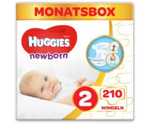 Huggies Newborn Baby Windeln für Neugeborene Größe 2 210 Stück