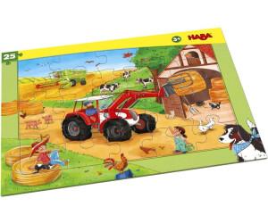 HABA Rahmenpuzzle Landmaschinen