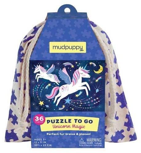 Mudpuppy Einhorn Magie Puzzle To Go