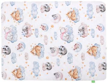 Lulando Art Collection Babydecke Velvet sleepy