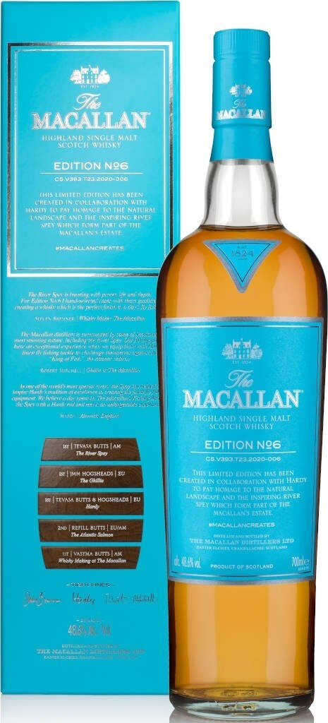 The Macallan Edition No. 6 Whisky 48,6% 0,7l