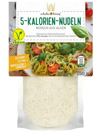 Schultz & König 5-Kalorien-Nudeln aus Algen (250g)
