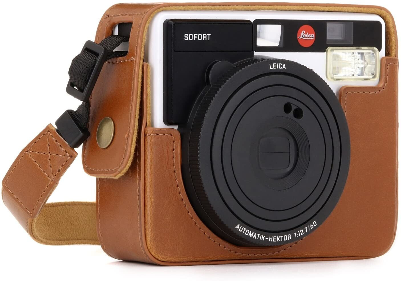 Image of MegaGear MegaGear Ever Ready Leica Sofort light brown