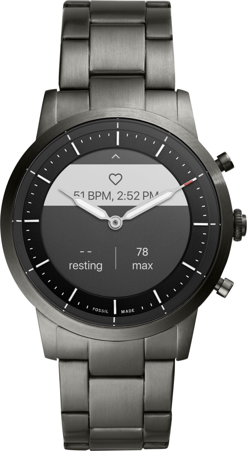 Image of Fossil Collider HR Stainless Steel Grey