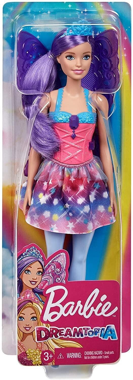 mattel barbie dreamtopia fee mit lila haaren und flügeln