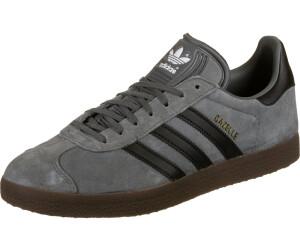 Adidas Gazelle grey four/core black/gum5 au meilleur prix sur ...