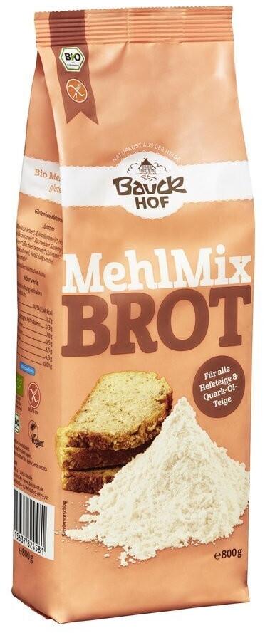 Bauckhof Mehl-Mix Brot glutenfrei Bio (800g)