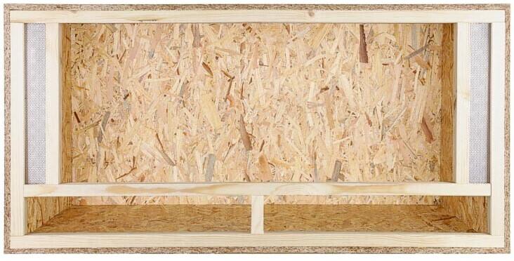 Repiterra Holz Terrarium mit Frontbelüftung 120x60x60cm