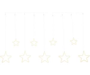 FHS LED-Lichtervorhang Sterne (35079)
