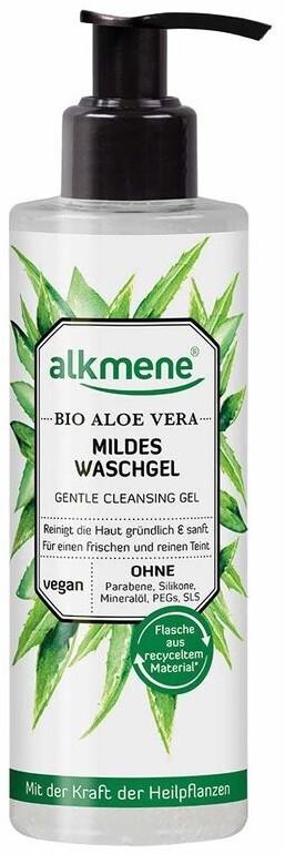 Alkmene Bio Aloe Vera mildes Waschgel (180ml)