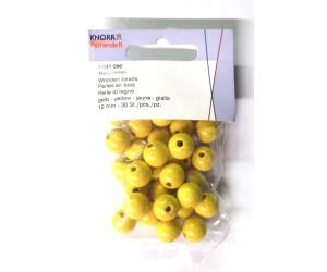 Brunnen Verlag Holzperlen 12 mm gelb 30 St.