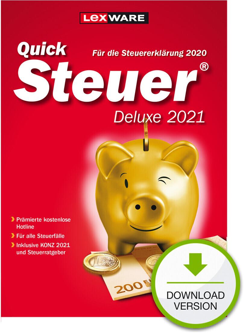 Lexware QuickSteuer 2021 Deluxe (Download) ab 25,95 ...