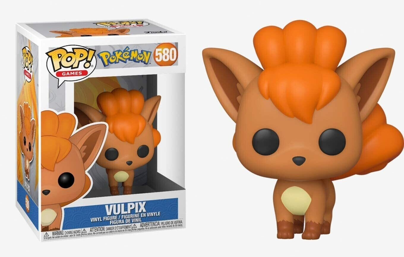 Funko POP! Games Pokemon Vulpix #580