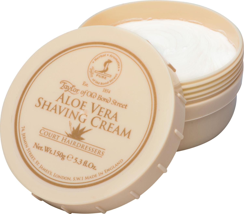 Taylor of Old Bond Street Aloe Vera Shaving Cream (150 g)