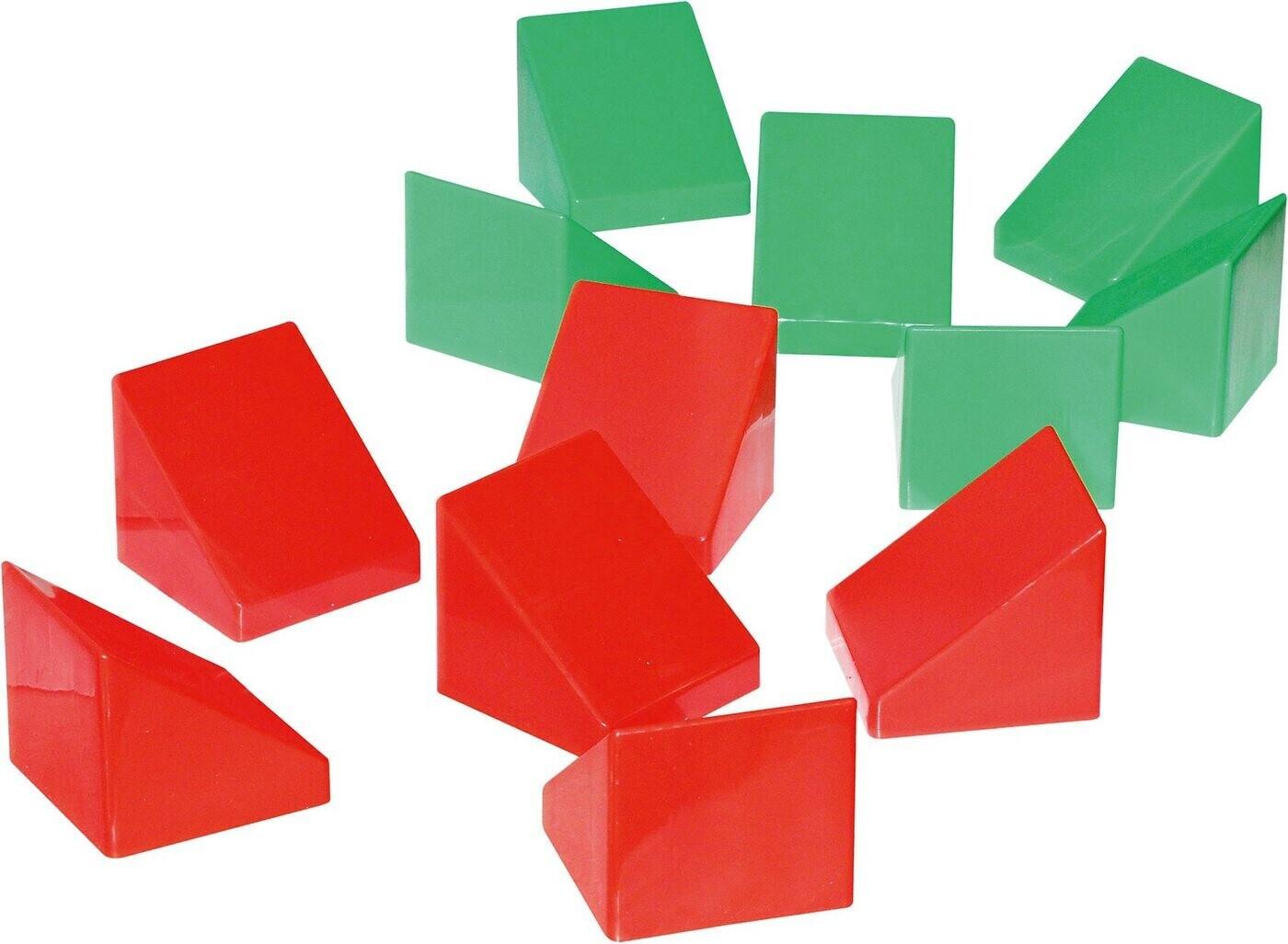 Wader XXL-Bausteine Dachschrägen 12 Stück