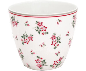 Greengate Avery latte Cup weiss (0,3 l)