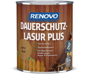 Renovo Dauerschutzlasur PLUS 8412 teak 0,75 l