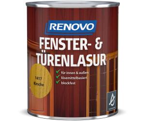 Renovo Fenster&Türenlasur Nr.1417 kirsche 0,75 l