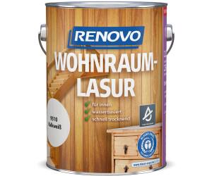 Renovo Wohnraumlasur kalkweiß 2,5 l