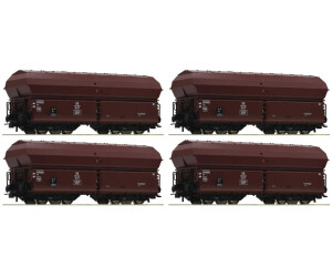Roco 4-tlg. Set: Selbstentladewagen, DB (67083)
