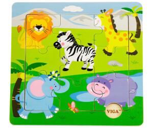VIGA Wildtiere (9 Teile)