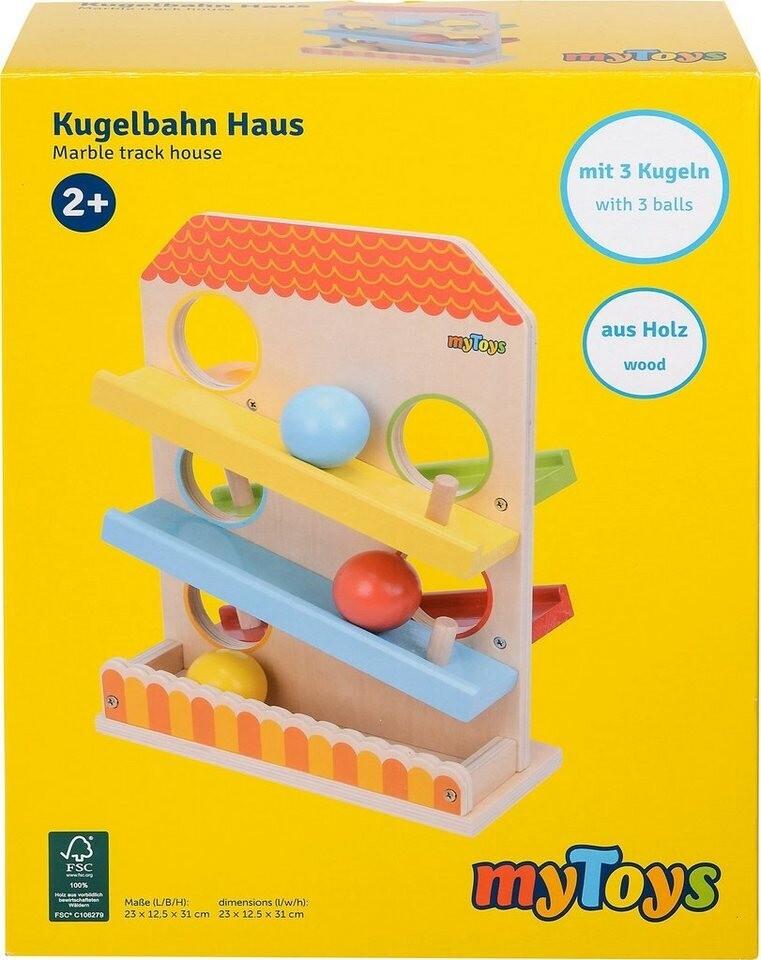 myToys Kugelbahn Haus