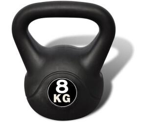 Budodrake Kettlebell Kugelhantel 8 kg Profi Chrom//Hartgummi
