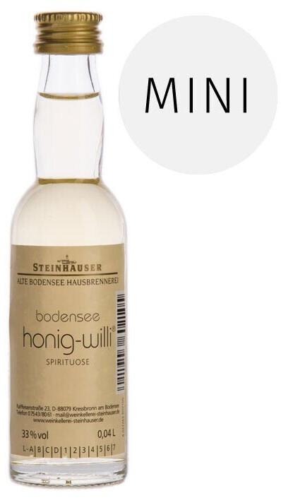 Steinhauser Honig-Willi 33% 0,04 l