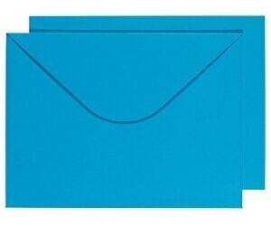 Buntbox DIN C4 ohne Fenster blau 2 Stück