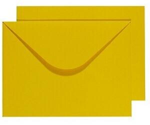 Buntbox DIN C4 ohne Fenster gelb 2 Stück