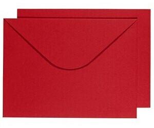 Buntbox DIN C4 ohne Fenster rot 2 Stück