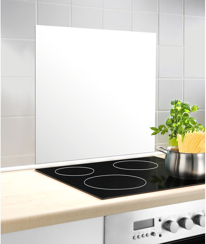 Wenko Glasrückwand 60 x 70 cm   weiß