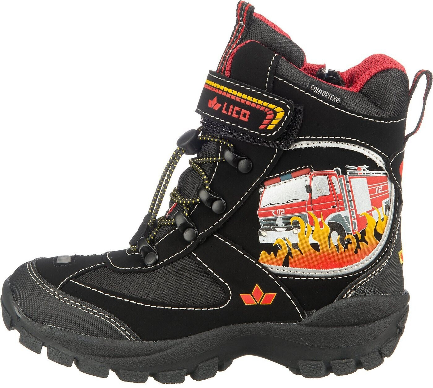 Lico Boots Hot vs Blinky Kids (300208) black/red/yellow