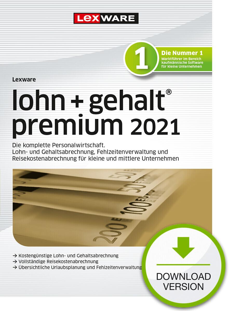 Lexware Lohn + Gehalt 2021 Premium (Download) ab 1.017,00 ...