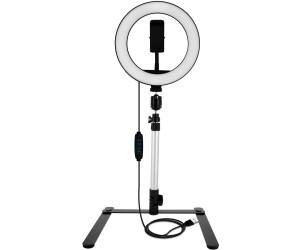 LinQ LED-Ringlicht 20cm mit Stativ