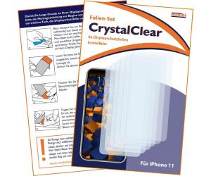 Mumbi Schutzfolie kompatibel mit iPhone 11 Folie klar (6x)