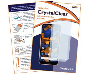 Mumbi Schutzfolie kompatibel mit Nokia 4.2 Folie klar (2x)
