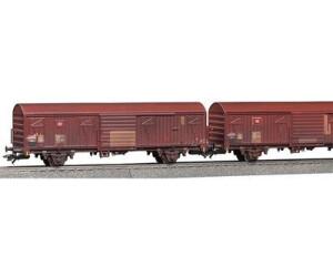 Märklin Spundwandwagen-Set: 2 x Gbs 256, DB AG (47312)